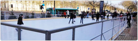 Patinoires, Ski, Luges - Location